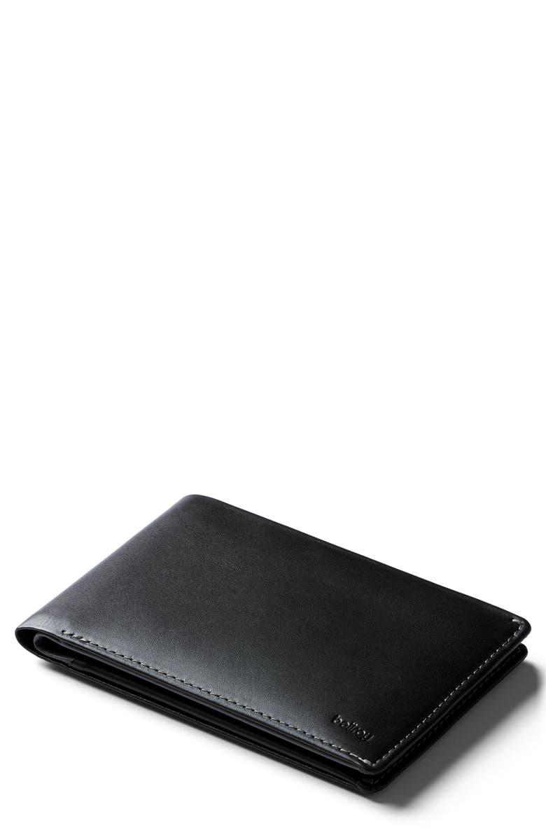 BELLROY RFID Travel Wallet, Main, color, BLACK