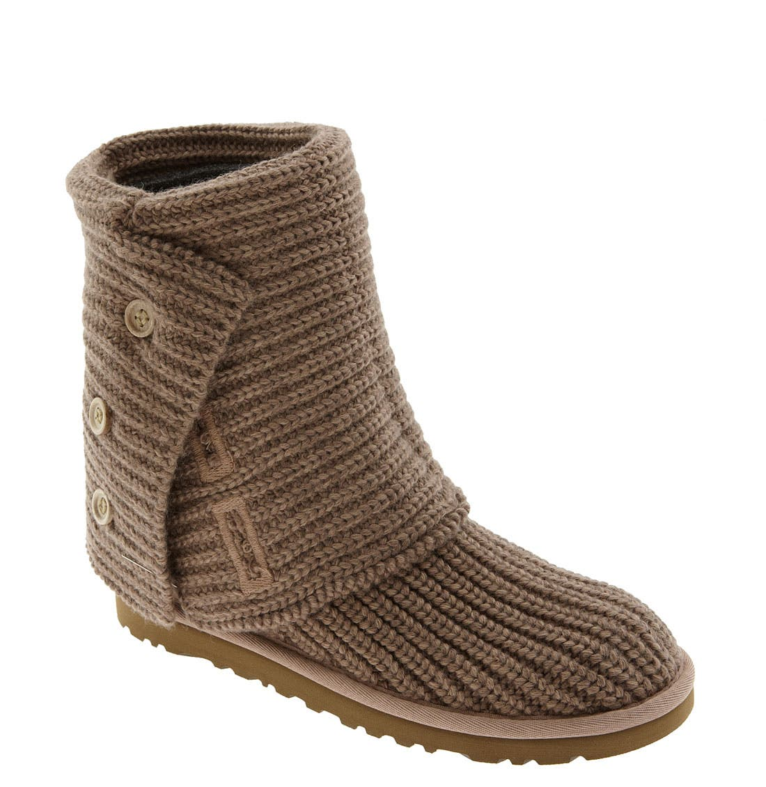 ,                             'Cardy' Classic Knit Boot,                             Main thumbnail 18, color,                             201