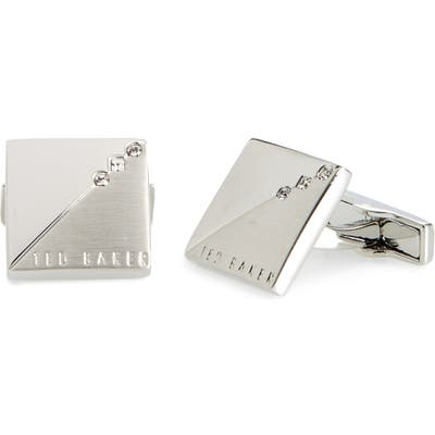 Ted Baker London Small Crystal Corner Cuff Links