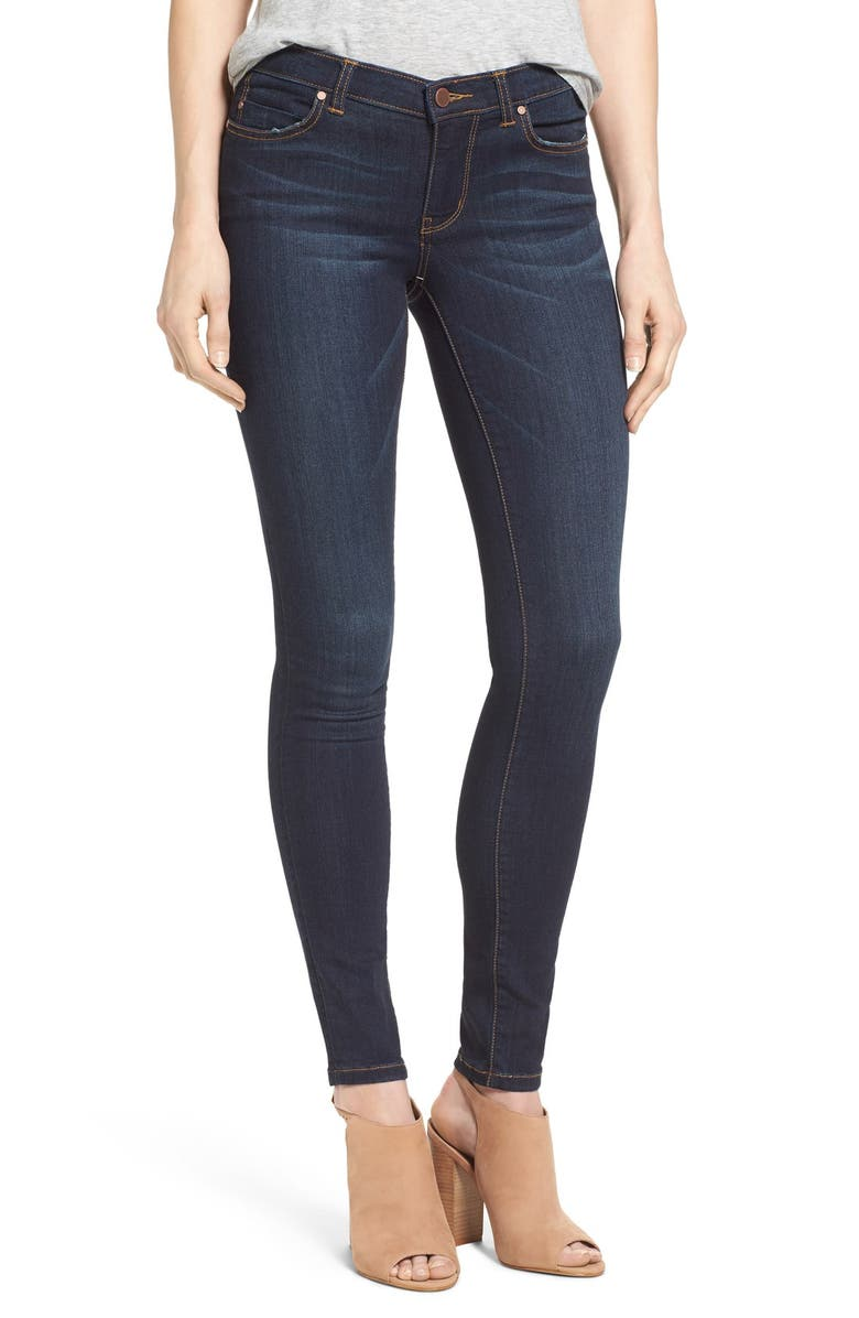 CASLON<SUP>®</SUP> Stretch Skinny Jeans, Main, color, 420