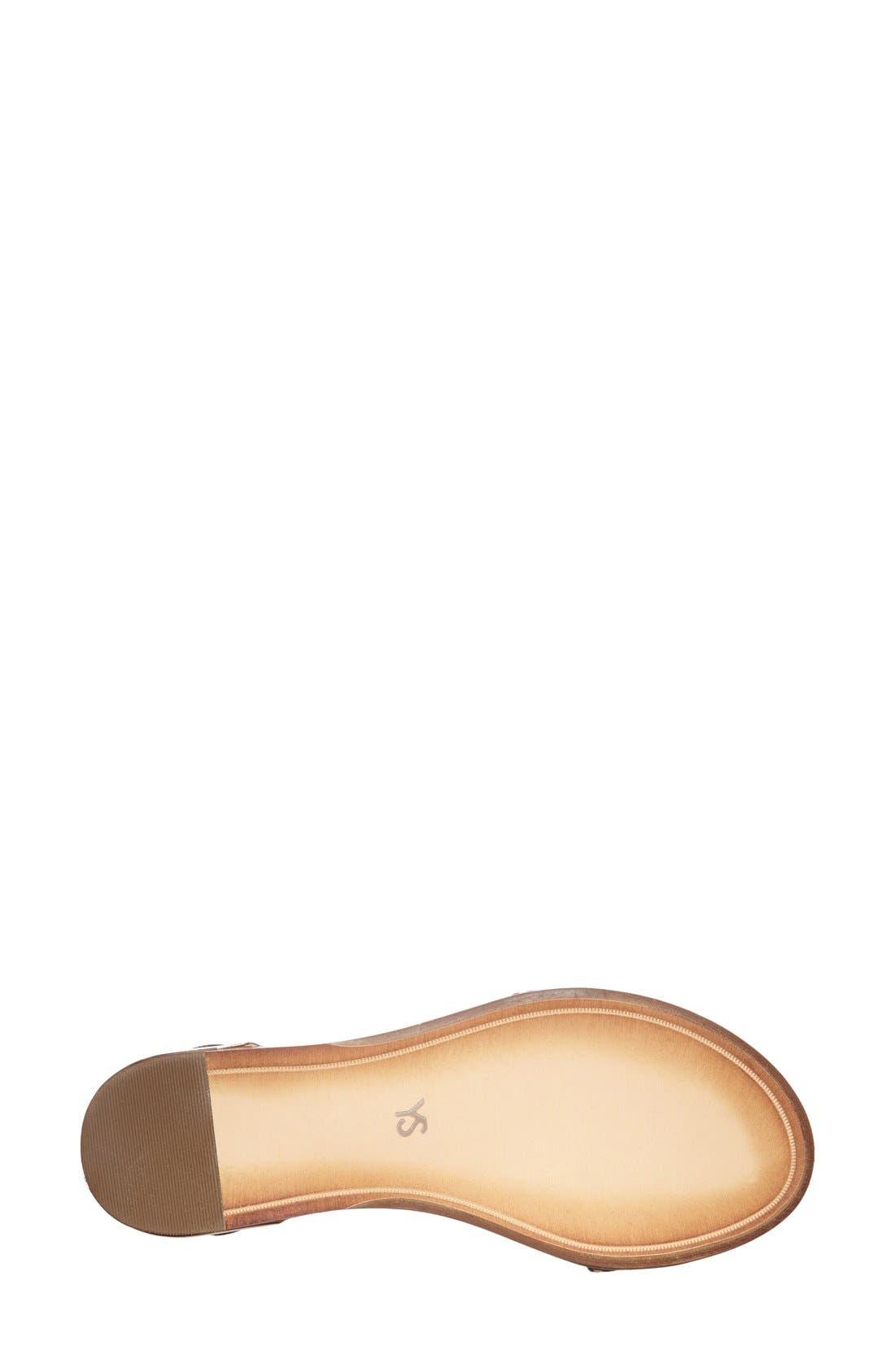,                             'Cambelle' Ankle Strap Sandal,                             Alternate thumbnail 40, color,                             275