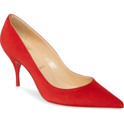 Christian Louboutin Clare Pointy Toe Pump, Red