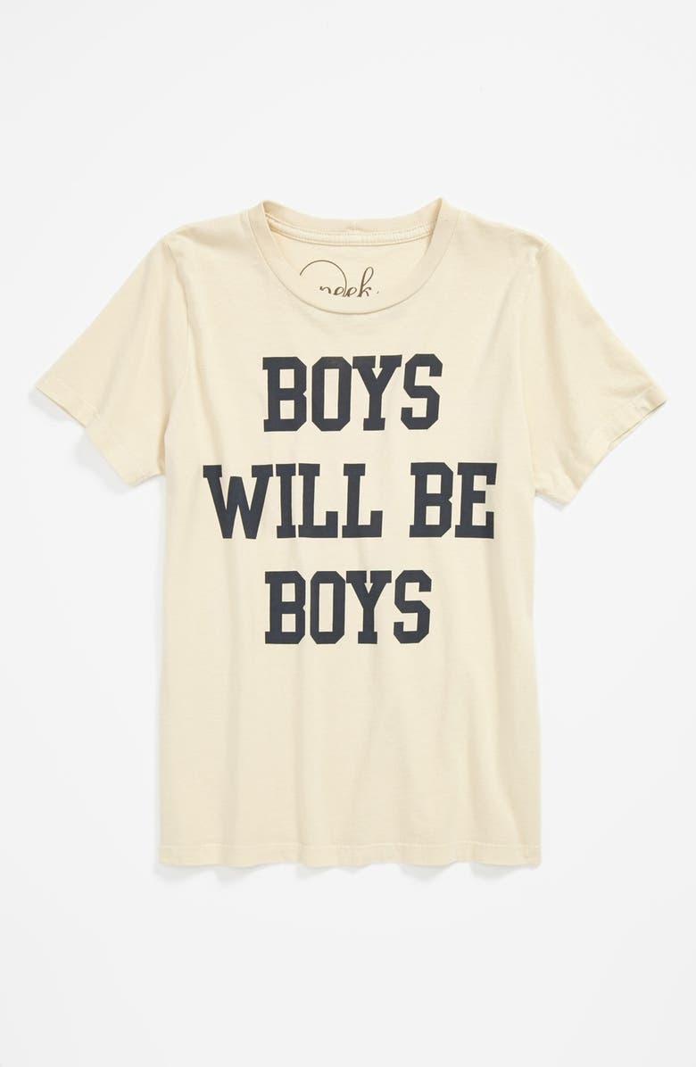 PEEK AREN'T YOU CURIOUS Peek 'Boys Will Be Boys' T-Shirt, Main, color, 200