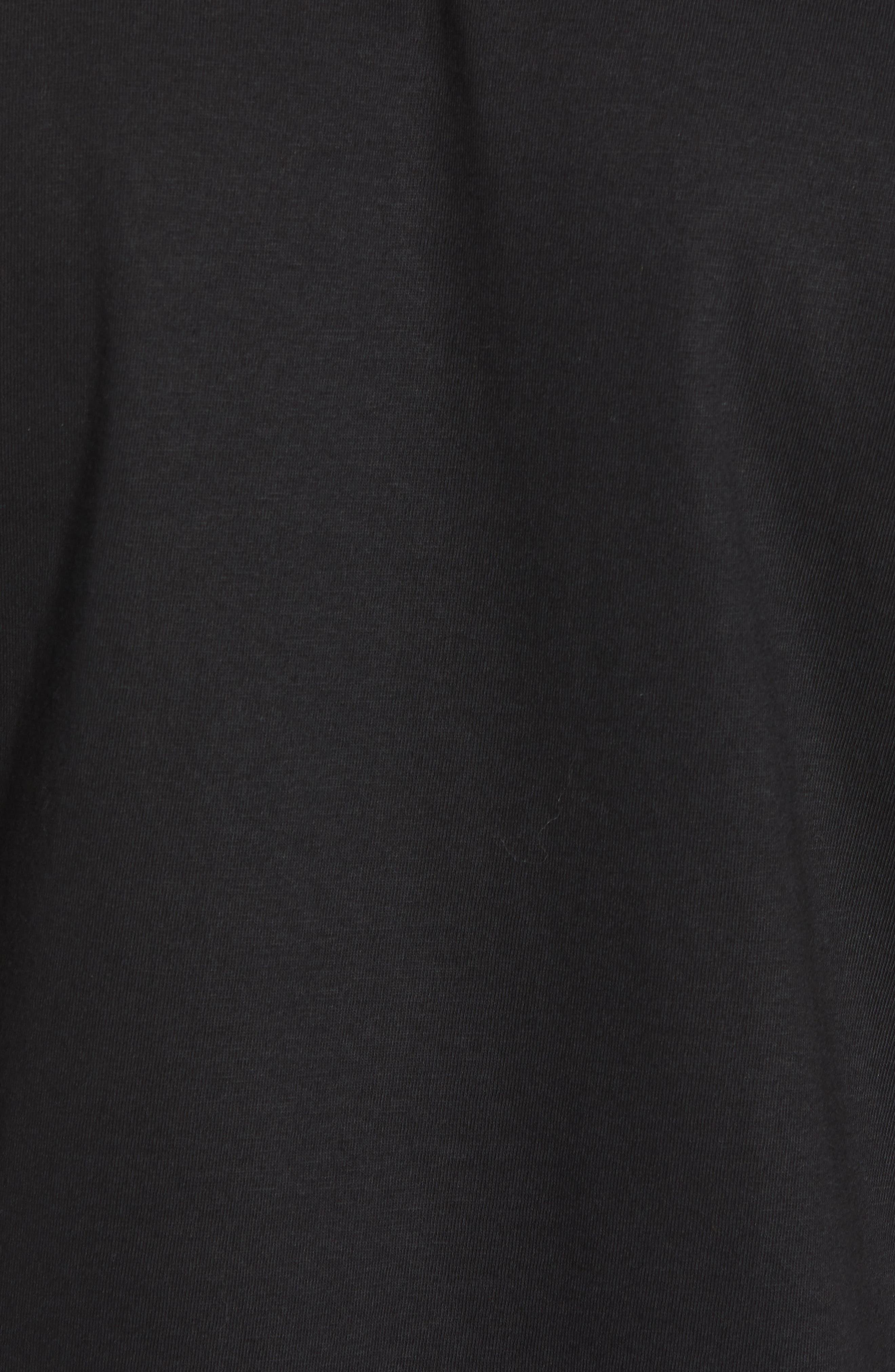 ,                             Authentic Estessi Logo T-Shirt,                             Alternate thumbnail 5, color,                             001