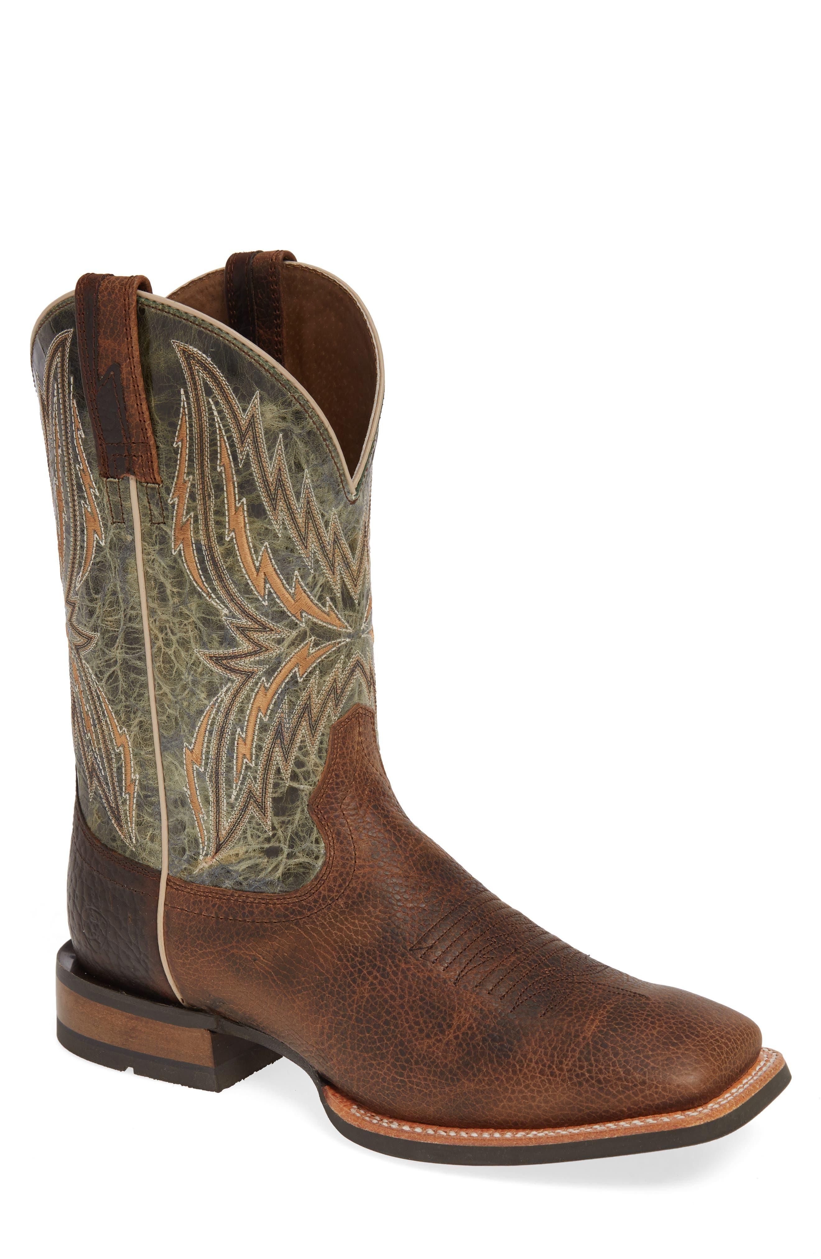 Ariat Arena Rebound Cowboy Boot, Brown