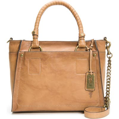 Frye Demi Leather Satchel - Brown