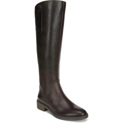 Franco Sarto Becky Knee High Boot, Regular Calf- Brown