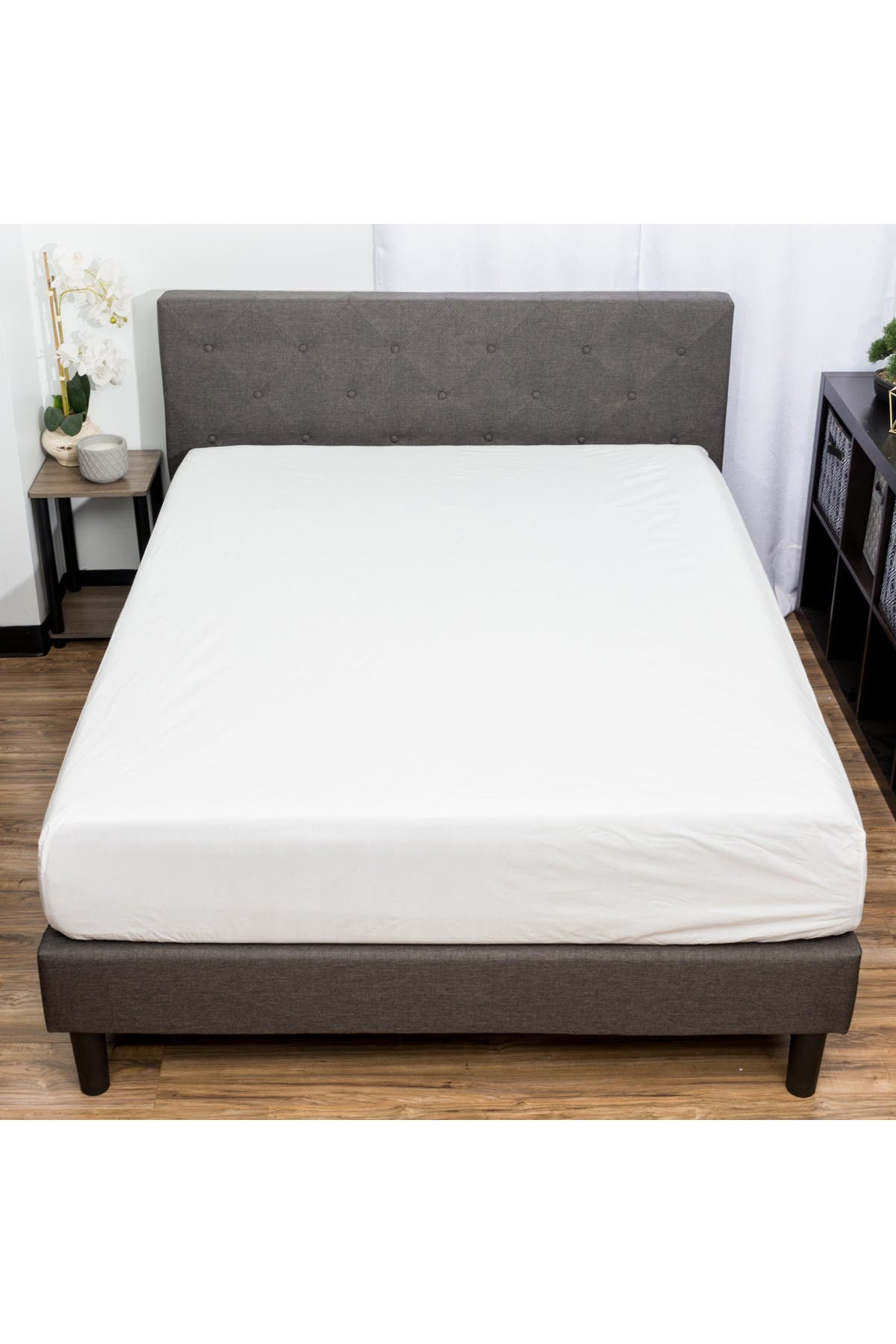 Image of Duck River Textile Full Giuseppe Waterproof Mattress Protector - White