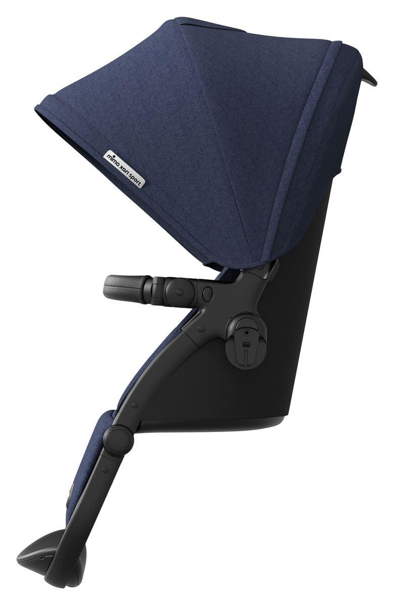 MIMA Xari Sport Seat Attachment with Canopy for mima Xari Strollers, Main, color, DENIM