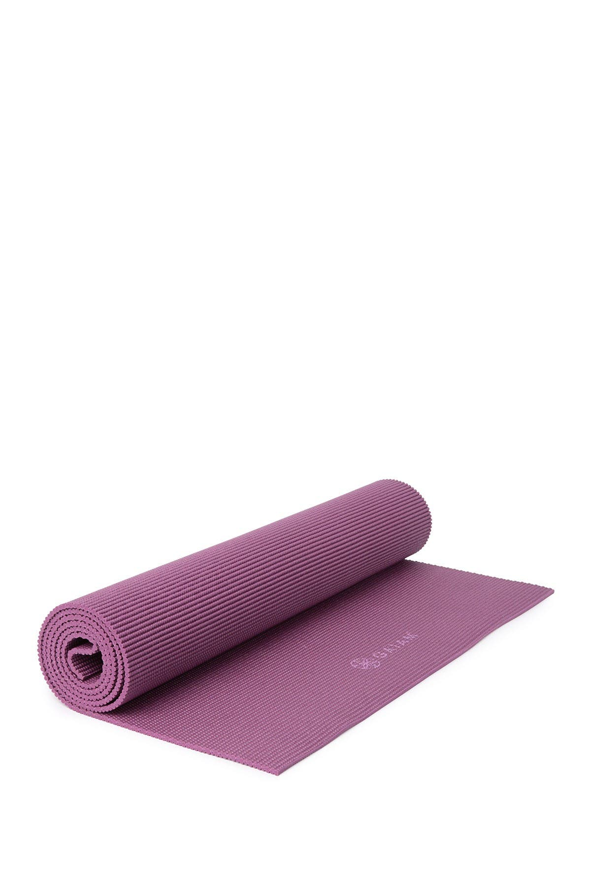 Image of Gaiam 5mm Solid Yoga Mat - Purple
