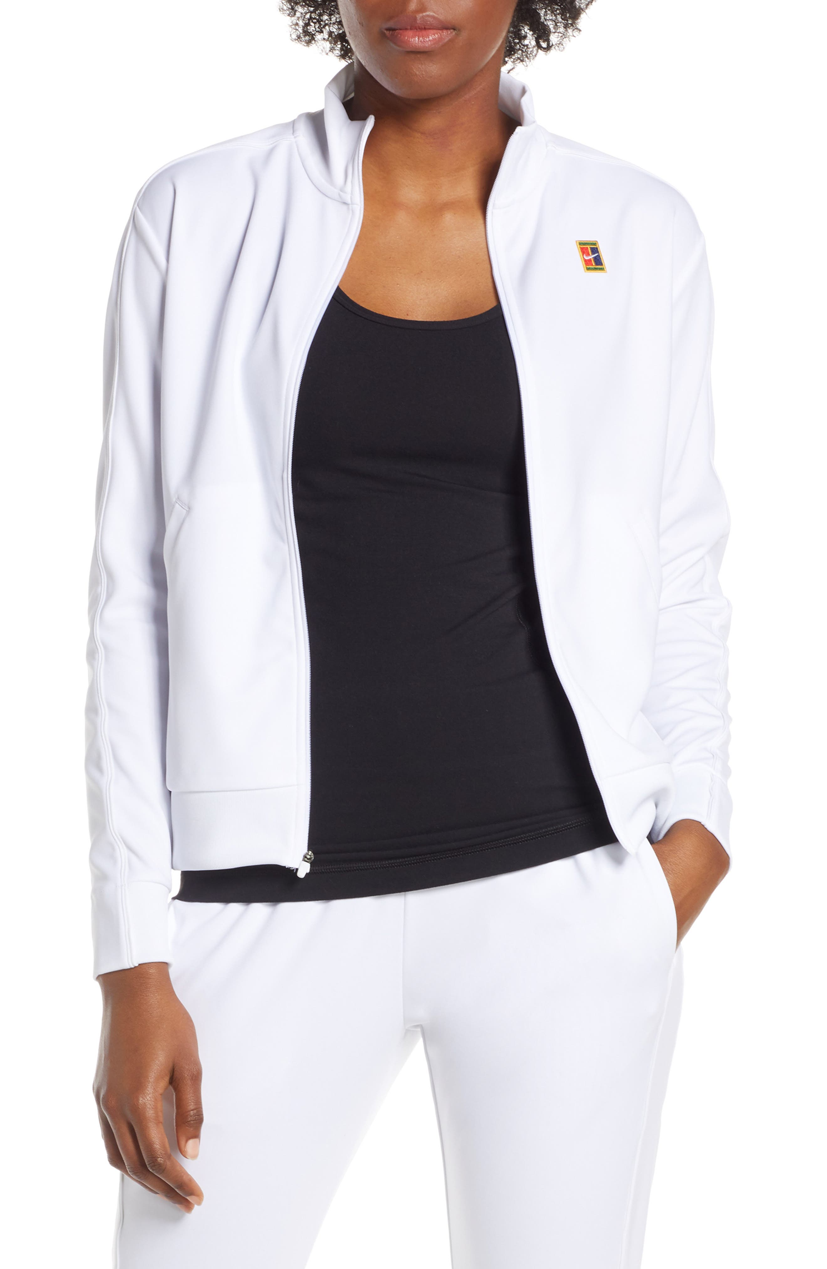 Nike Court Warm-Up Jacket, White