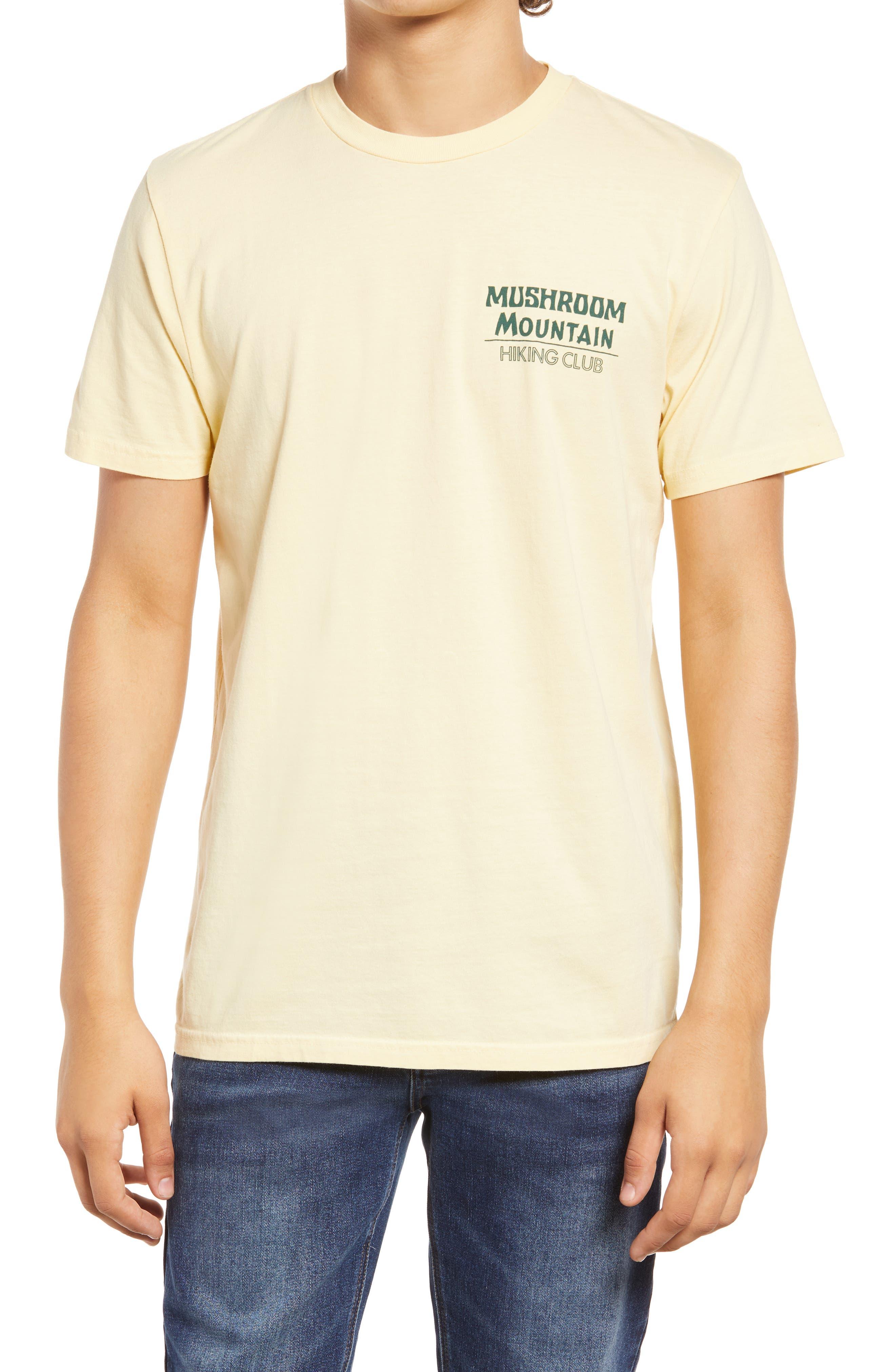 Men's Mushroom Mountain Logo T-Shirt