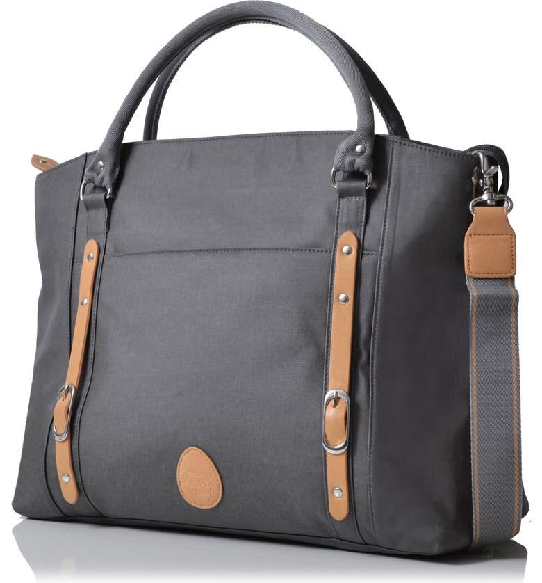 PACAPOD Mirano Diaper Bag, Main, color, PEWTER
