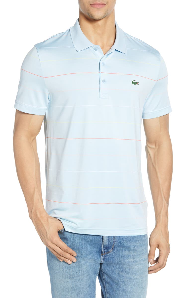 LACOSTE Ultra Dry Regular Fit Tech Polo, Main, color, 400