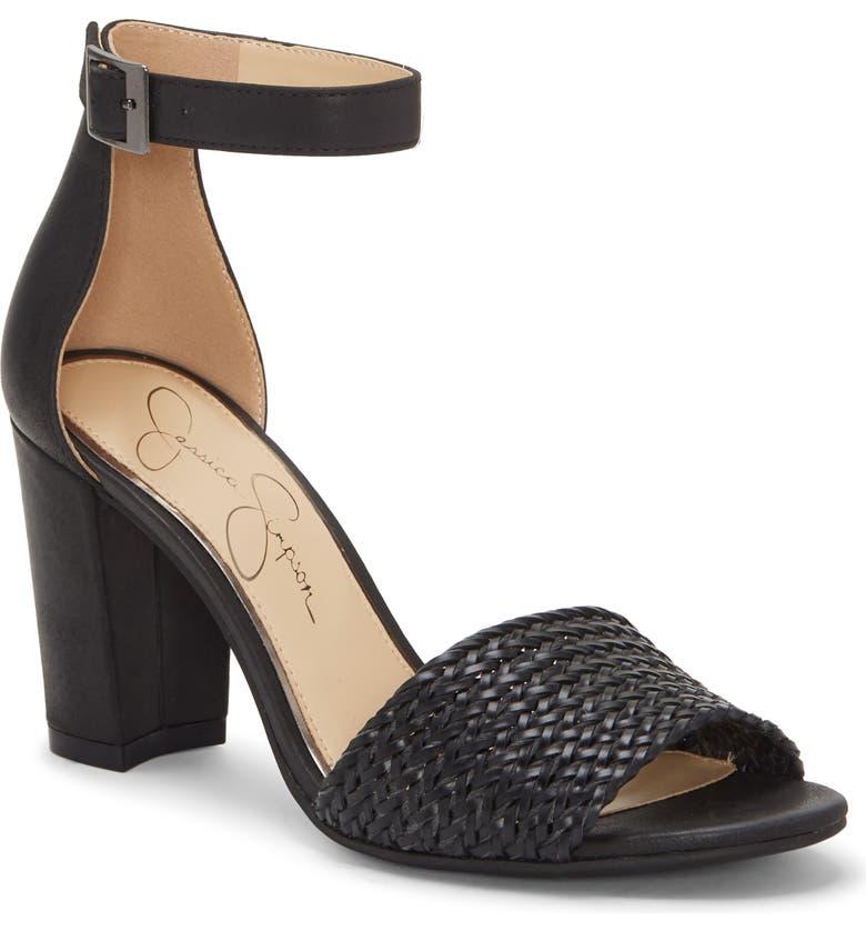 JESSICA SIMPSON Sherron 4 Sandal, Main, color, BLACK