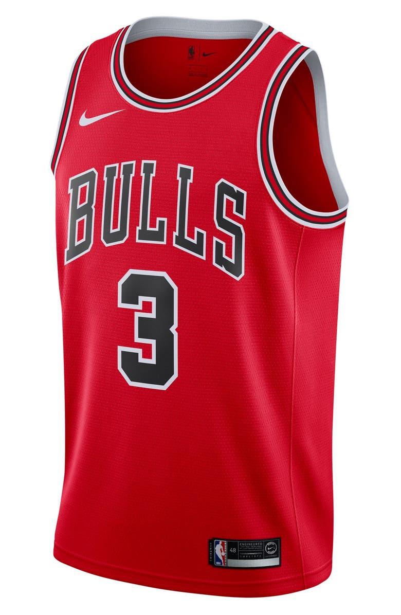 NIKE Chicago Bulls Icon Edition Swingman NBA Jersey, Main, color, 600