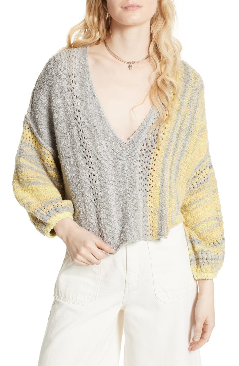 FREE PEOPLE Amethyst Pullover, Main, color, 030