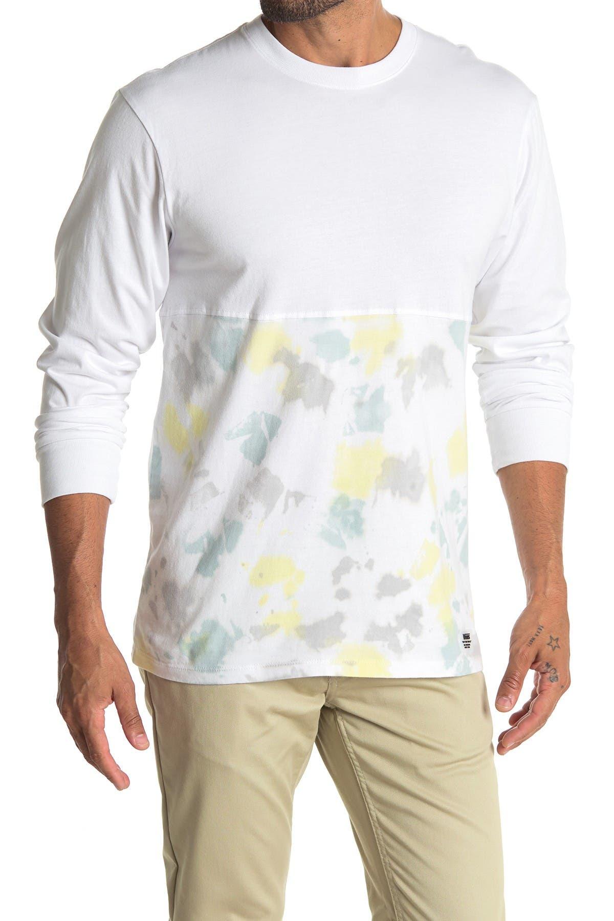 Image of VANS Elevated Long Sleeve Tie Dye T-Shirt