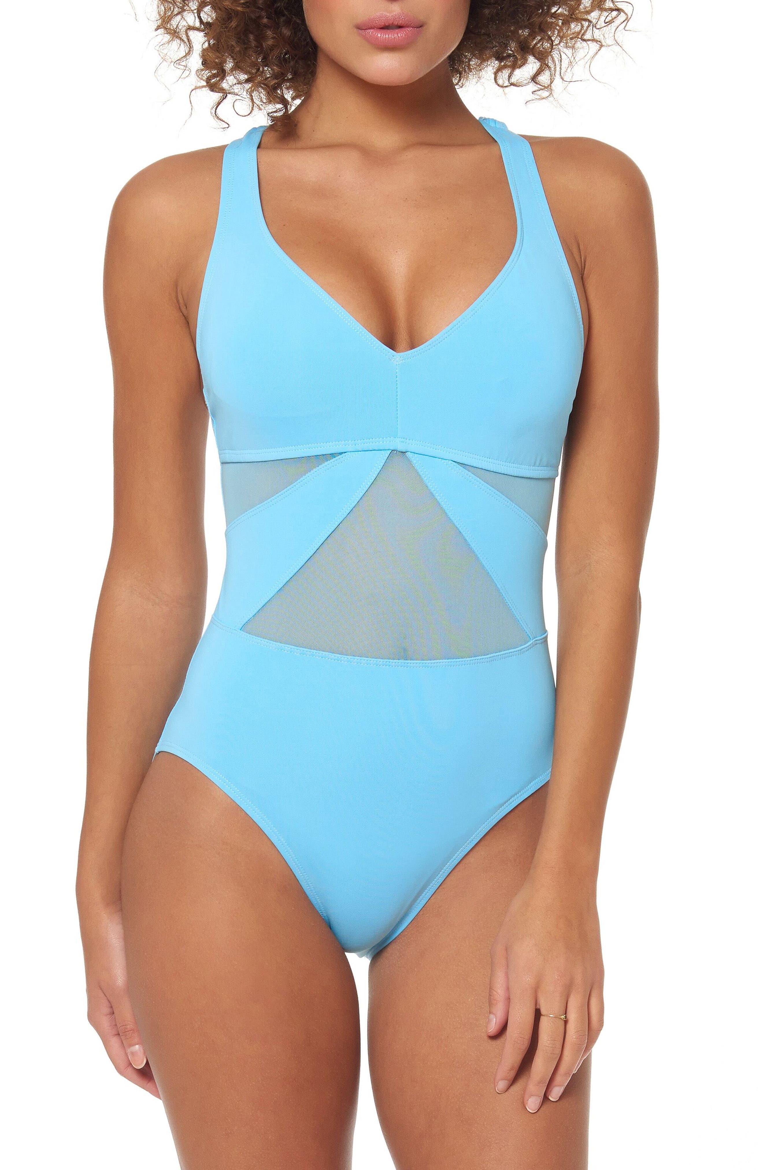 Bleu By Rod Beattie Strappy Back One-Piece Swimsuit, Blue