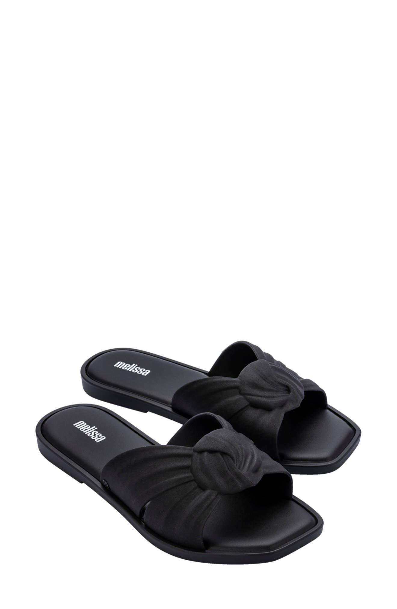 Plush Slide Sandal
