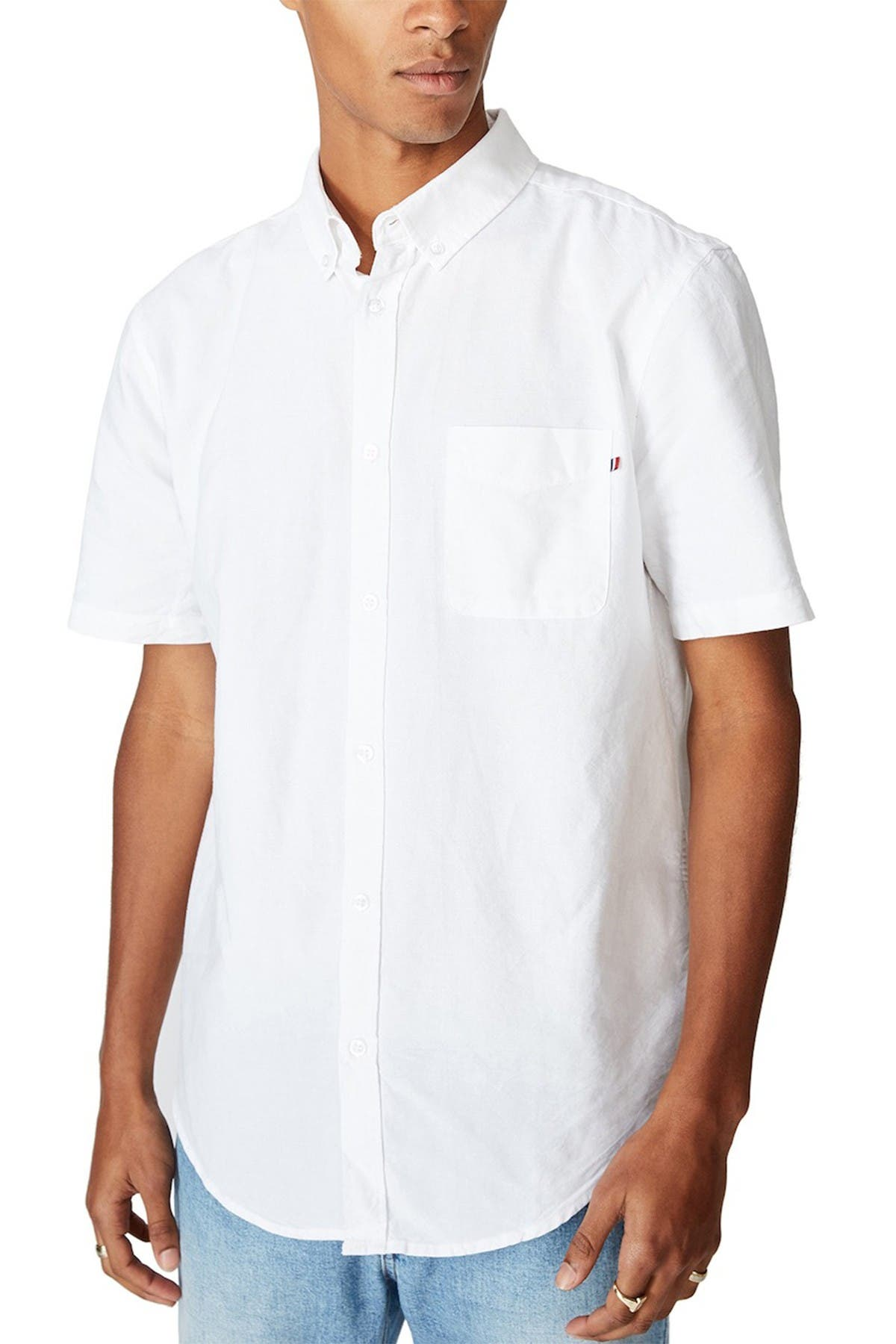 Cotton On VINTAGE PREP SHORT SLEEVE SHIRT