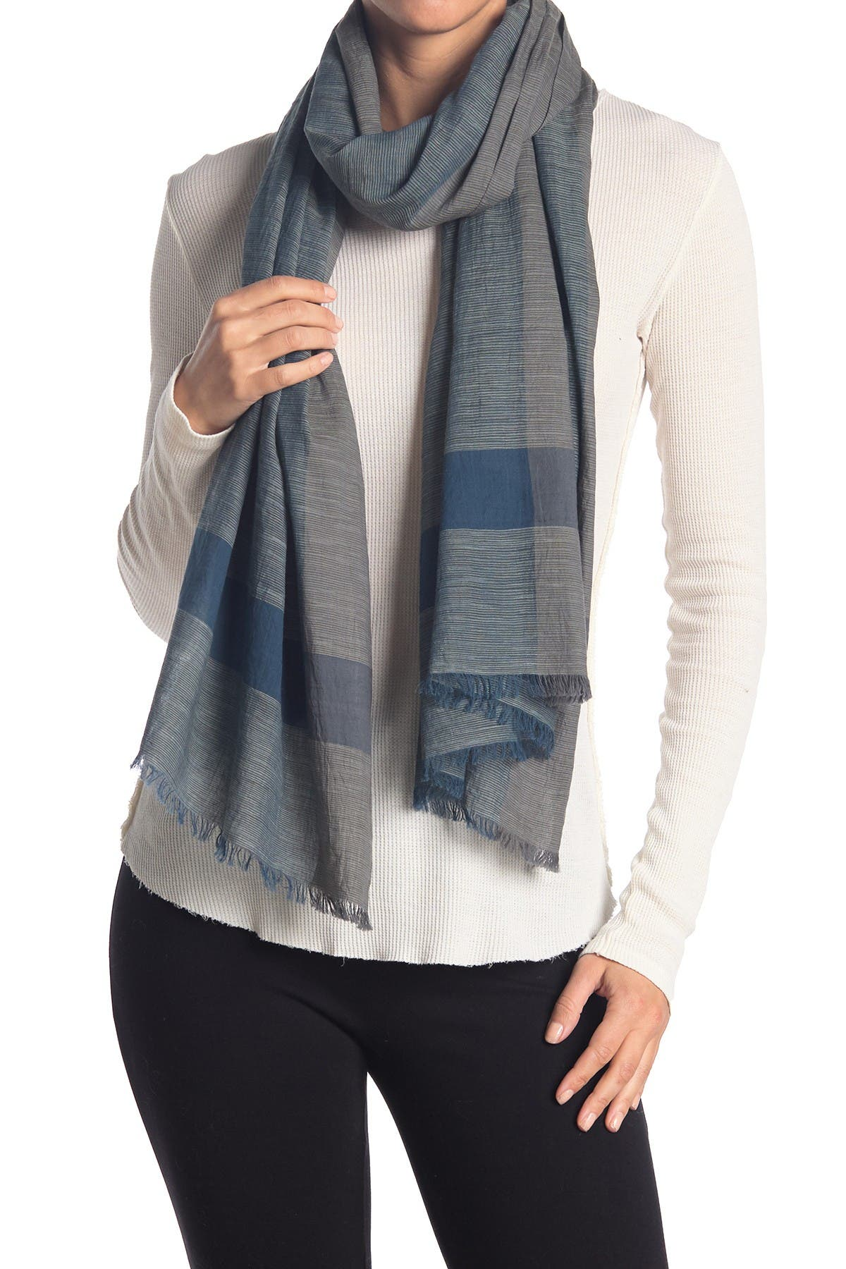 Image of Eileen Fisher Handloomed Organic Cotton Scarf