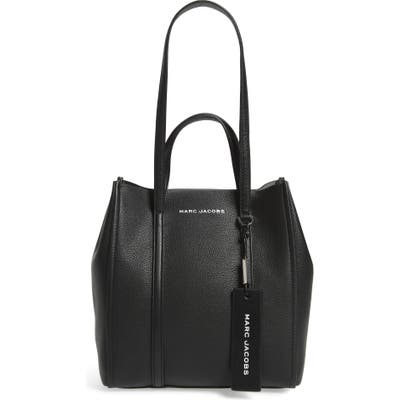 The Marc Jacobs The Tag 27 Leather Tote - Black