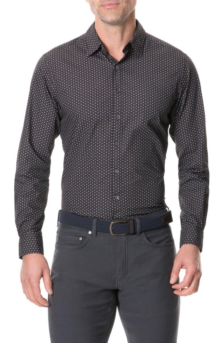 RODD & GUNN Torrance Street Regular Fit Button-Up Shirt, Main, color, FOREST