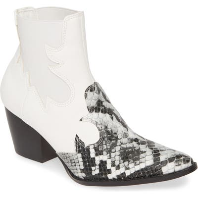 Coconuts By Matisse Defy Western Chelsea Bootie, White