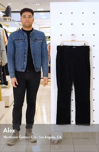 Marilyn Straight Leg Cotton Blend Velvet Pants, sales video thumbnail