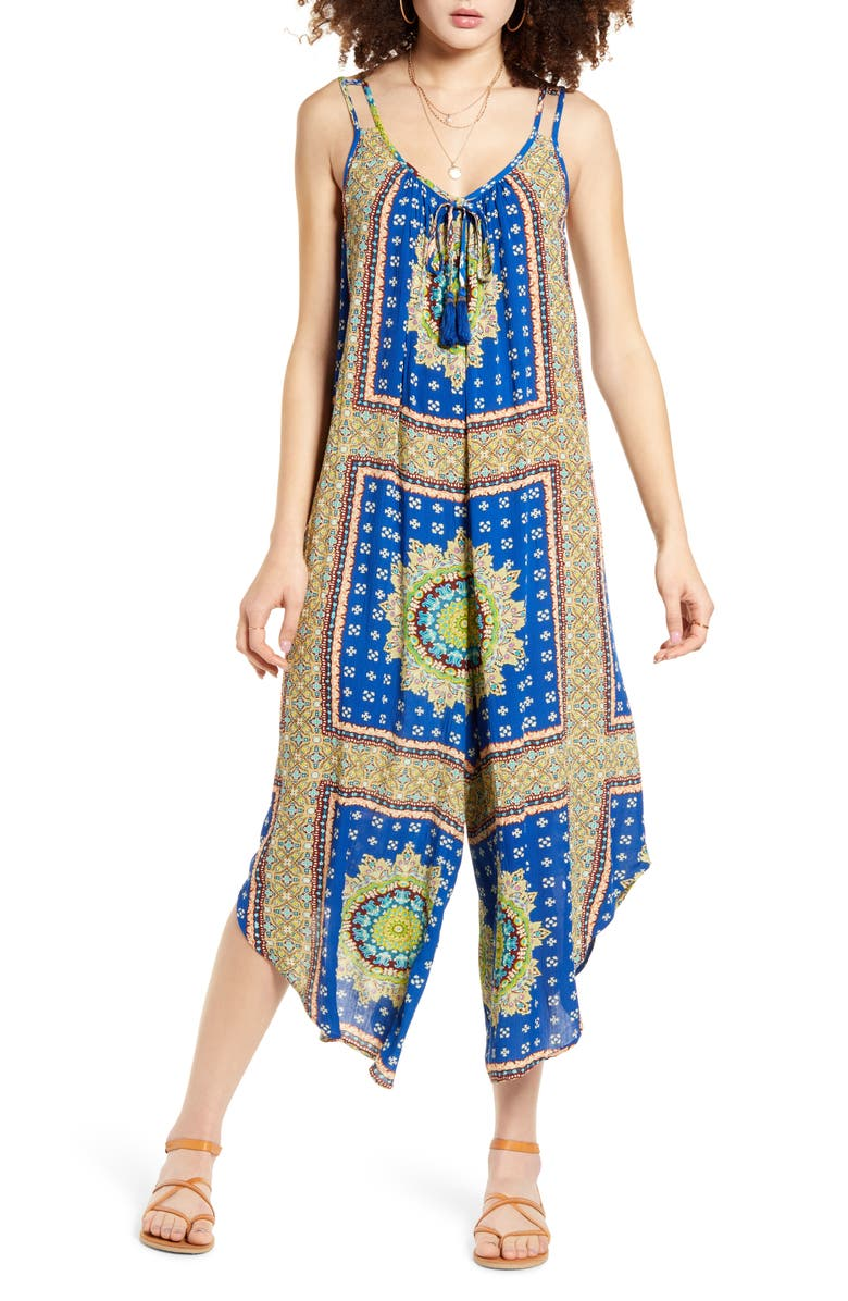 BAND OF GYPSIES Athens Jumpsuit, Main, color, 400