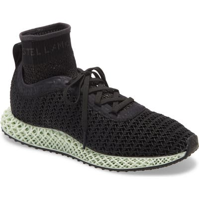 Adidas By Stella Mccartney Alphaedge 4D High Top Sneaker- Black
