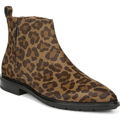 Via Spiga Emelin Water Resistant Bootie- Brown