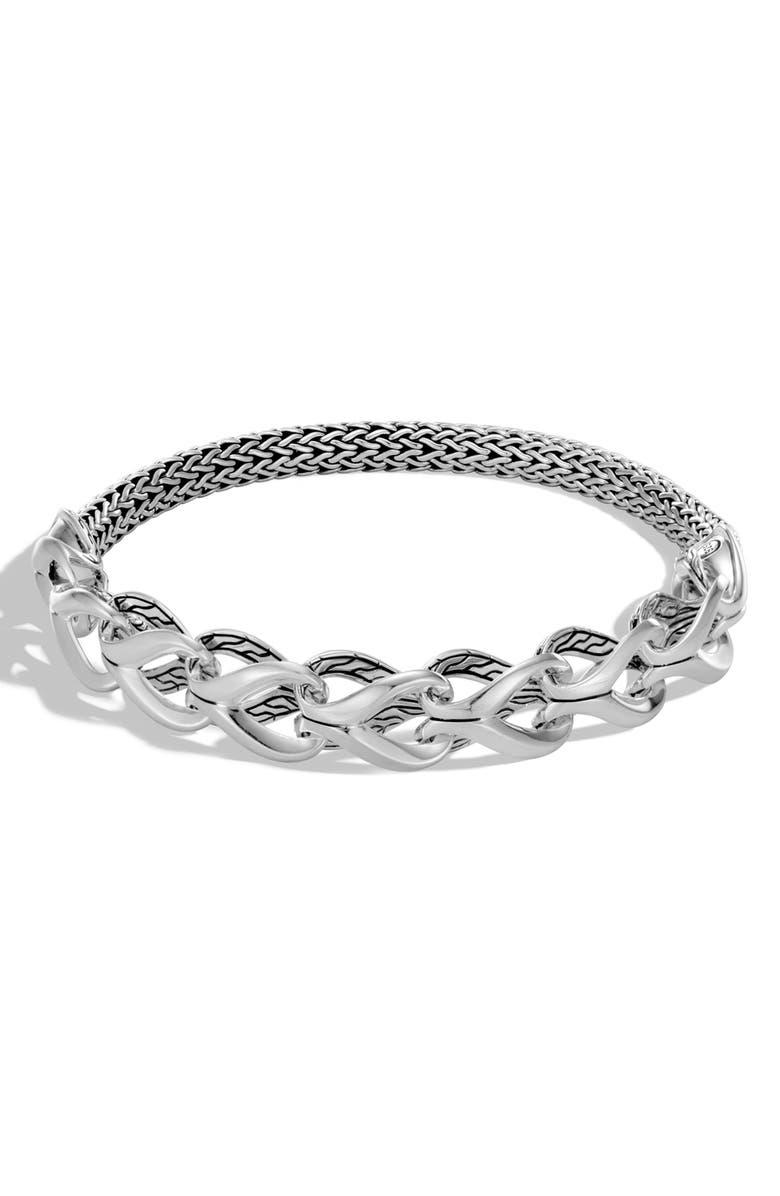 JOHN HARDY Classic Chain Half Link Bracelet, Main, color, 040