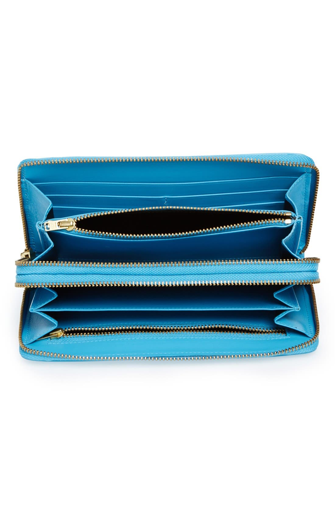 ,                             Leather Continental Long Wallet,                             Alternate thumbnail 8, color,                             400
