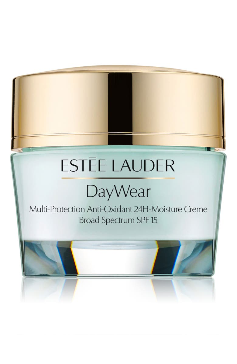 ESTÉE LAUDER Daywear Multi-Protection Anti-Oxidant 24H-Moisture Crème Broad Spectrum SPF 15, Main, color, NORMAL / COMBINATION SKIN