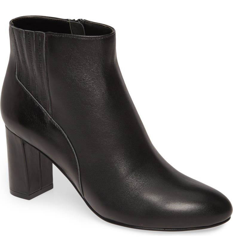 DAVID TATE Delores Bootie, Main, color, BLACK LEATHER