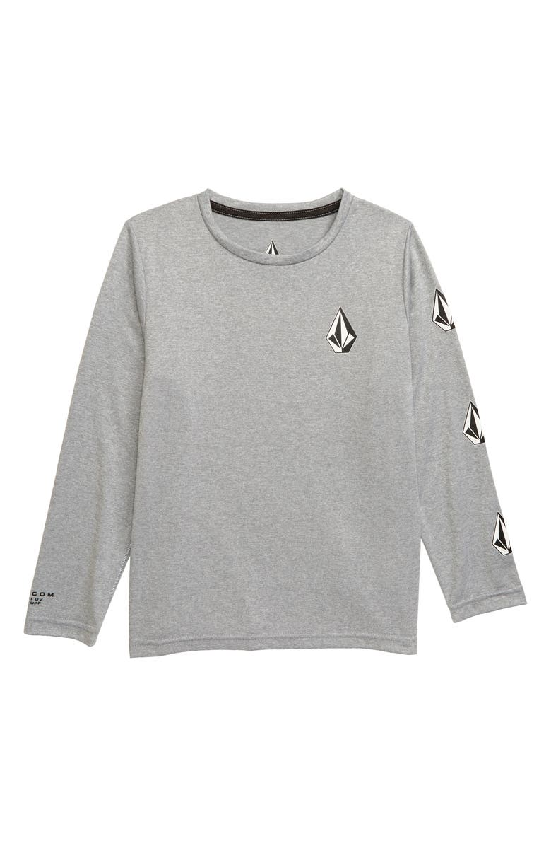 VOLCOM Deadly Stones Graphic T-Shirt, Main, color, PEWTER