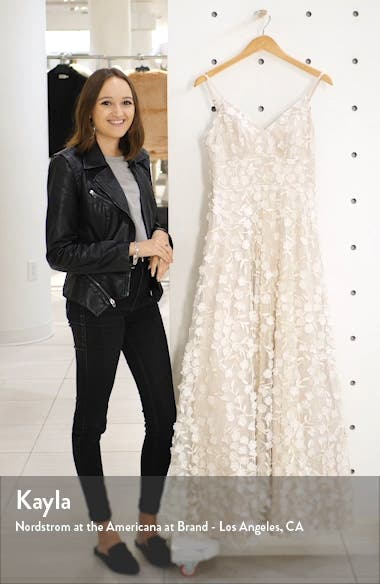 3D Floral Embellished Gown, sales video thumbnail