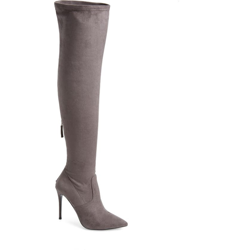 STEVE MADDEN Devine Over the Knee Boot, Main, color, 055