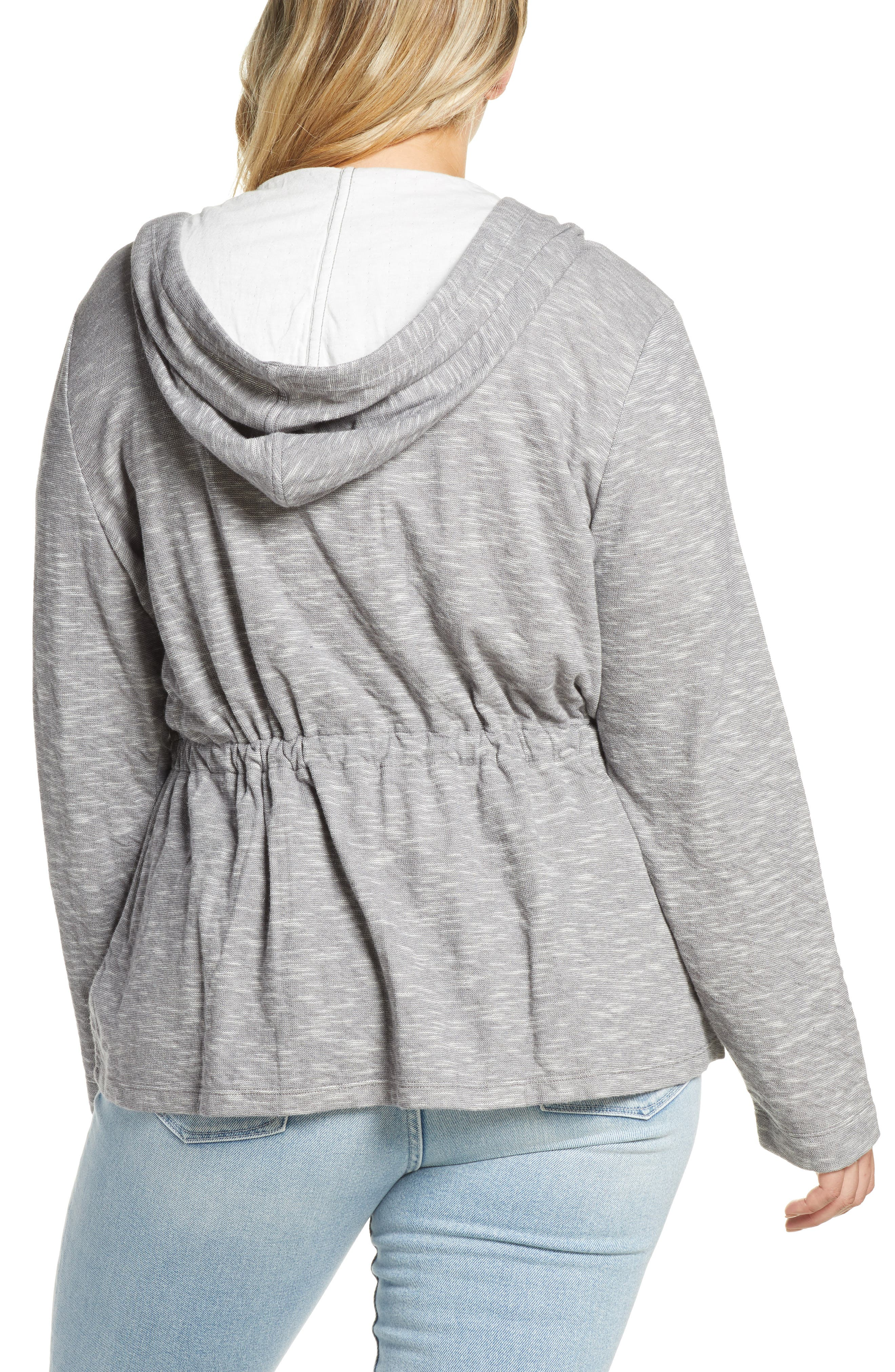 ,                             Open Front Hooded Cardigan,                             Alternate thumbnail 11, color,                             030