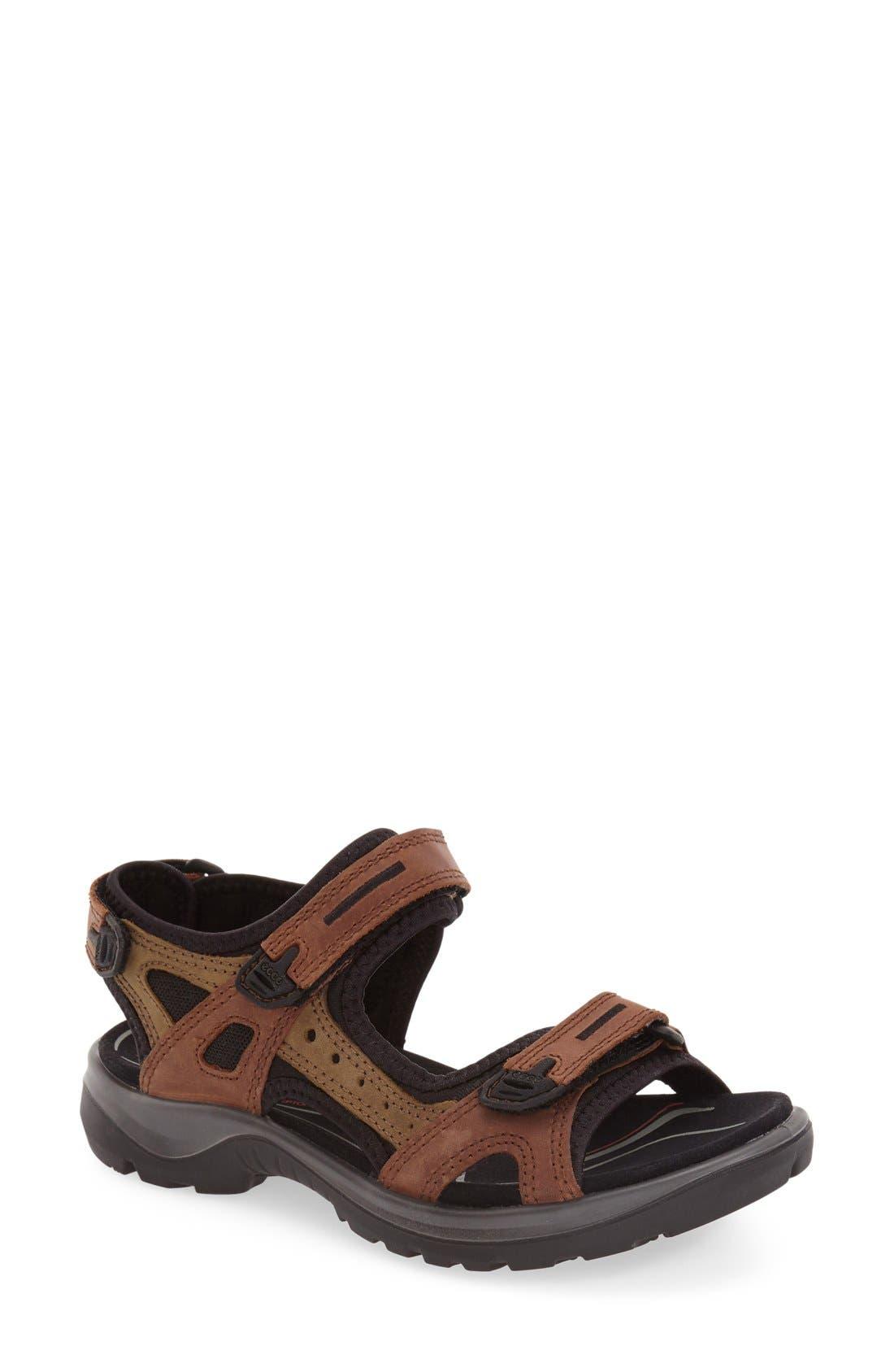 Ecco Yucatan Sandal, Brown