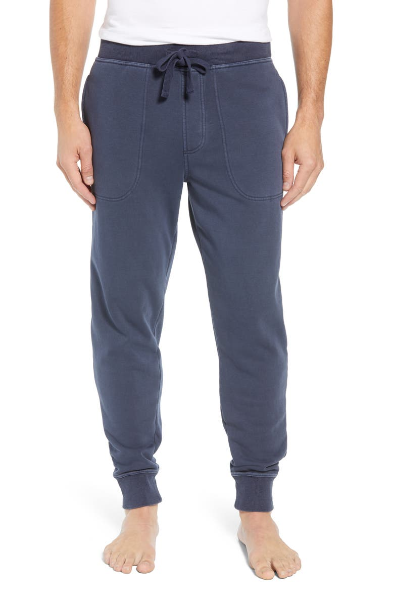UGG<SUP>®</SUP> Jakob Washed Jogger Pants, Main, color, NAVY
