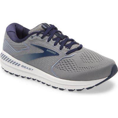 Brooks Beast 20 Running Shoe - Grey