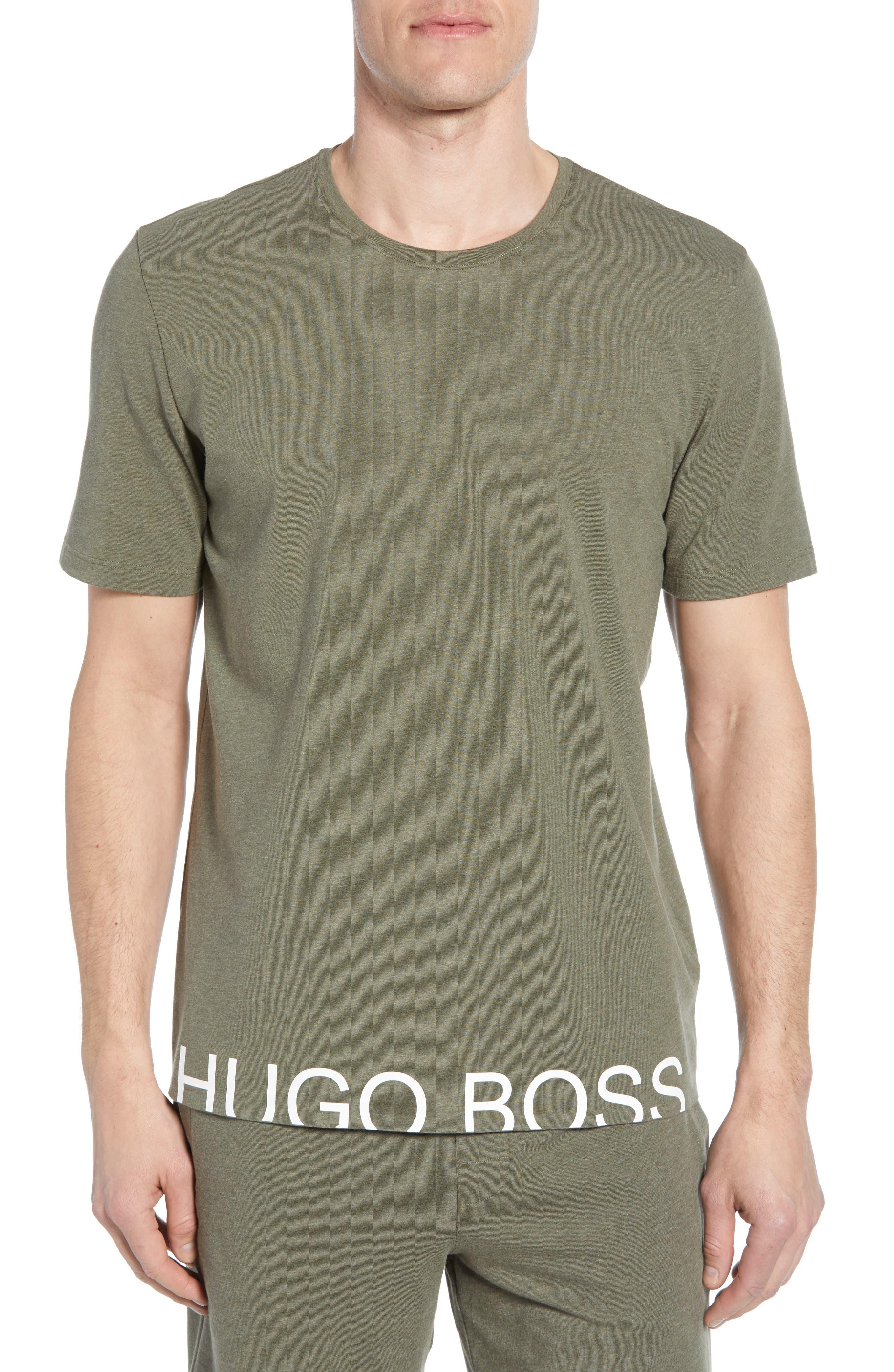 0ef94d62e Boss Identity Stretch Cotton Crewneck T-Shirt, Green