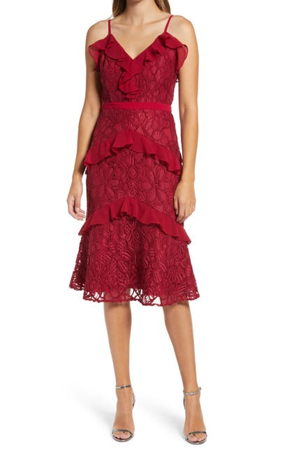 Image of Adelyn Rae Enslie Embroidered Lace Dress