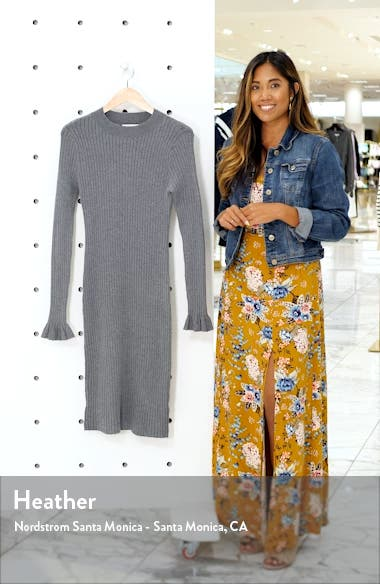 Rib Sweater Dress, sales video thumbnail