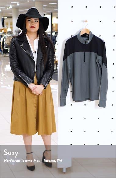 HeatGear<sup>®</sup> Colorblock Half Zip Pullover, sales video thumbnail
