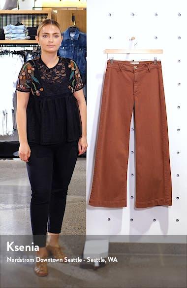 Anessa Wide Leg Crop Jeans, sales video thumbnail
