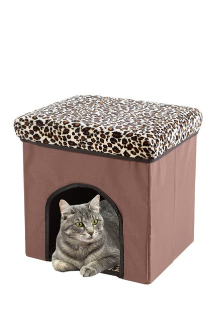 Image of Duck River Textile Brown Lila Pet House 3 In1 Animal Printing